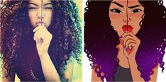 Artist Finds Photos of Random People, Transforms Them into Illustrated Characters - My Modern Met