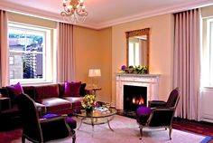 The Ritz-Carlton, Montreal is a historic hotel in Canada with beautiful accommodations, a restaurant from chef Daniel Boulud and a luxury spa. Best Hotels In Montreal, Of Montreal, Montreal Canada, Beige Room, Living Room Seating, Living Rooms, Interior Decorating, Interior Design, Commercial Interiors