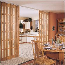 Accordion doors: They were highly touted back in the day as a space-saving and room-hiding innovation. And, I think they most definitely can have their uses today, with the caveat that you want to look for a high-quality product, not one that's flimsy. Looking back at a story on unusual accordian plastic window shades, I see …