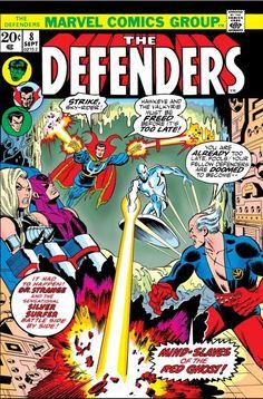 Hasbro Comic Packs Defenders Marvel Comic Book - Rare & Hard to Find Marvel Comics, Marvel Comic Books, Marvel Heroes, Marvel Characters, Comic Books Art, Comic Art, Dr Strange Marvel, Defenders Comics, Walt Disney