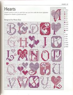 <3   Great letters even without the hearts