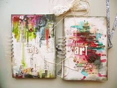 Art Journal - journal covers by czekoczyna (Poland)