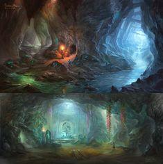 Crystal Mine by wang2dog on DeviantArt