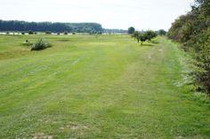 Mooi uitzicht over de prachtige Pitch&Putt Golfbaan op het eiland van Maurik.