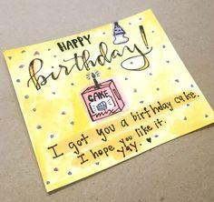 happy birthday card diy