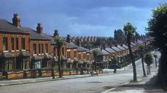 Mansel Road in Small Heath pictured in July 1953 Images Of England, Birmingham City Centre, Birmingham England, Local History, Vintage Photography, Bristol, Old Photos, Britain, City Photo