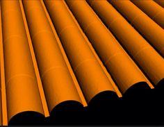 #naranja #tejado #inspiración