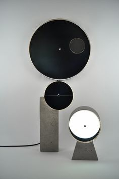 Syzygy lamps by OS ∆ OOS