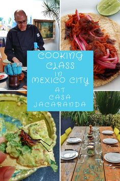 This cooking class in Mexico City is awesome!  Learn how to make authentic Mexican food & understand more about the UNESCO certified Mexican cuisine, then eat it all!