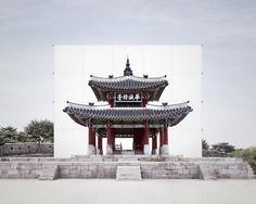 2015 INFINITY: ∞ at Space K (Gwacheon) // MYOUNG HO LEE Heritage #3 - Seojangdae, 2015 photograph 40.9×48.8 in (104×124 cm)