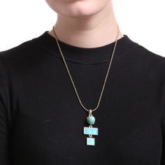 New-Fashion-Women-Crystal-Necklace-Pendant-Charm-Bead-Chain-Gold-Jewelry-Gifts