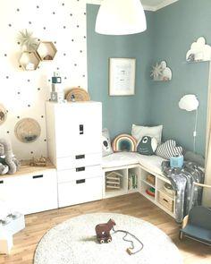 Children's Room Children's Room; Home Decoration; Home Design; Little Girls; Home Storage;Table setting; Home Furniture; Baby Room Boy, Baby Bedroom, Girl Room, Child Room, Room Kids, Baby Baby, Nursery Wall Decor, Baby Room Decor, Boho Nursery