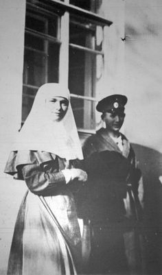 Grand Duchess Olga Romanov, Tsarskoe Selo, ca, 1915-1916