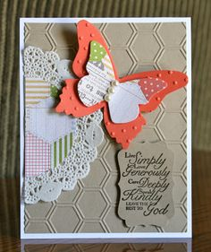 Stampin' Up! Card by Krystals Cards and More: Trust God