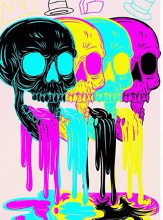 Account Suspended : cmyk by joejr on Behance Graffiti Art, Art And Illustration, Trippy Drawings, Art Drawings, Psychedelic Drawings, Art Pop, Arte Inspo, Psychadelic Art, Posca Art