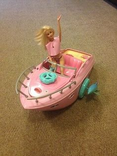 Barbie Party Boat