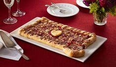 Wewalka Recipe - Chocolate Cheesecake Pizza