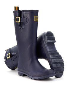 Joules Damen Gummistiefel, Navy. Ein Muss für nasses Wetter. Unsere neuen Gummistiefel freuen sich über jeden Regenguss. Und Ihre Füße werden sich pudelwohl fühlen.