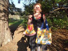 créatrice de modèle de sacs en patchwork  vendu en fiche