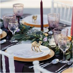Arabesque wedding at Desert Palm from the girls at The Purple Chair…