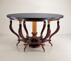 33006 // Decca // Traditional Collection // Antique Luxury Round Dining Table