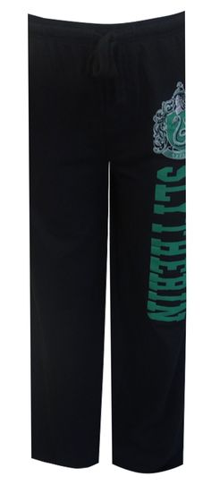 Harry Potter Slytherin House Lounge Pants Whether you enjoy the Harry Potter books or are a fan of the movies, these lounge pan...