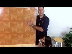 Peel & Stick Vinyl Floor Tile - Diamond Wood Parquet Pattern Vinyl Tiles, Vinyl Flooring, Wood Parquet, Peel And Stick Vinyl, Tile Stores, Adhesive Vinyl, High Gloss, Tile Floor, Diamond