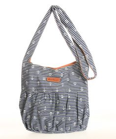 9dd7ebff5aaa Look what I found on  zulily! Navy  amp  White Darryn Hobo by WallFlower