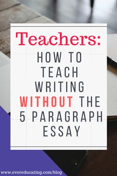 Do you teach writing, but hate the 5 paragraph essay? Here's the teaching tool I use when teaching college writing in my first year composition course. Writing Strategies, Writing Lessons, Writing Resources, Teaching Writing, Teaching English, Teaching Resources, College Teaching, Education College, How To Teach Writing