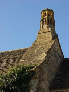 Medieval chimney, The Manor, Preston Plucknett, Nr Yeovil