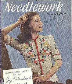 Had to learn this and of course smocking 1940s Outfits, Vintage Outfits, 1930s Fashion, Vintage Fashion, 1940s Clothes, Dottie Angel, Alpine Style, 1930s Style, Summer Knitting