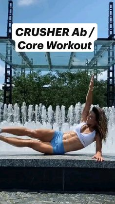 Monday Workout, Ab Core Workout, Dumbbell Workout, Killer Workouts, Ab Workouts, Workout Videos, Quad Exercises, Abdominal Exercises, Fitness Expert