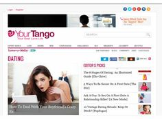 Not so much an actual dating website but more of a website about  relationships. The