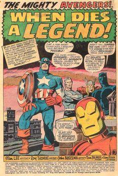 Avengers by John Buscema.