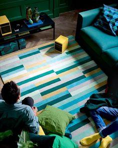 Krönge carpet for Ikea.