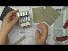 Strandkorb Anleitung mit Stampin´up! Produkten - YouTube