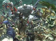 Transformers vs. GI Joe - Cobra & The Decepticons