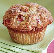 Cinnamon-Rhubarb Muffins - sub in gf flour