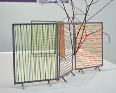 screens with string