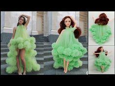 Diy Ken Doll Clothes, Sewing Barbie Clothes, Barbie Dolls Diy, Diy Doll, Trendy Dresses, Fashion Dresses, Prom Dresses, Formal Dresses, Clothing Patterns
