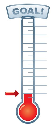 goal-thermometer-printable-for-clipart.jpeg 1,900×4,349 pixels