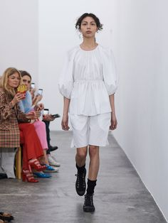 67b0411def Cecilie Bahnsen Copenhagen Fall 2018 Fashion Show Collection Clothing  Labels