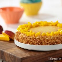 Coconut Mango Cheesecake recipe