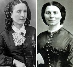 Dr. Mary Walker and Clara Barton - from the War between the States