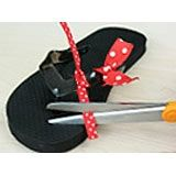 Minnie Mouse Flip-Flops | Crafts | Spoonful