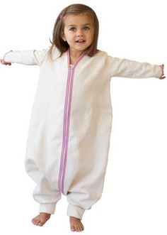 2938a84749 Organic Cotton pajamas and wearable blankets for babies and kids. Made in  the USA sleeper ...
