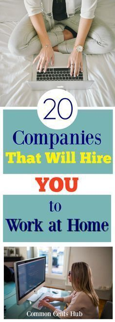 Sometimes we need to be home, but we also need to earn a paycheck. These 20 companies regularly hire people to work at home. Goodbye traffic, hello PJ's!