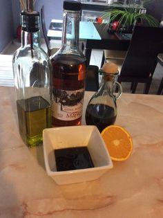 Vinagreta #orangejuice #maplesyrup #balsamicvinager #oliveoil #Homemade