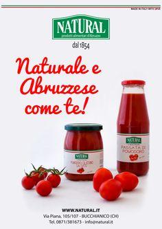 Campagna realizzata per Natural - Industria alimentare abruzzese