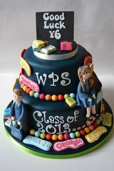 School leavers cake